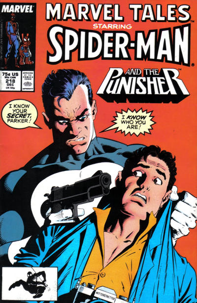 Cover for Marvel Tales (Marvel, 1966 series) #218