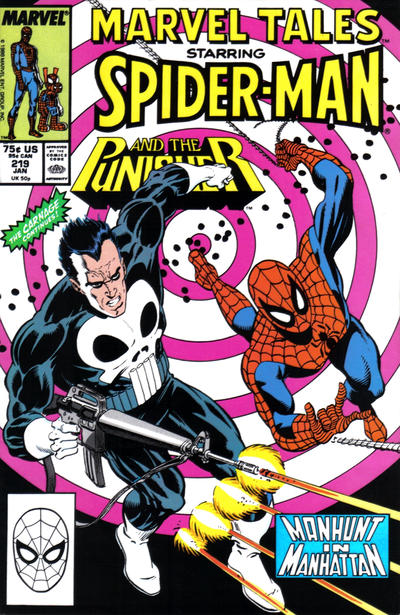 Cover for Marvel Tales (Marvel, 1966 series) #219