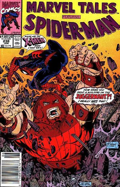 Cover for Marvel Tales (Marvel, 1966 series) #238 [Direct Edition]