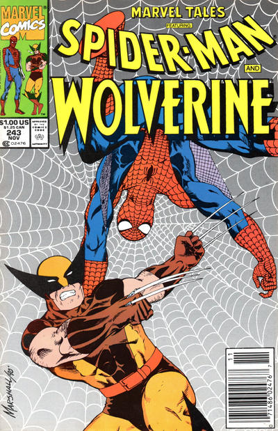 Cover for Marvel Tales (Marvel, 1966 series) #243