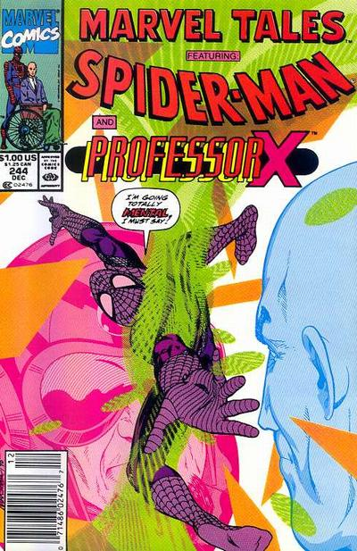 Cover for Marvel Tales (Marvel, 1966 series) #244 [Direct Edition]