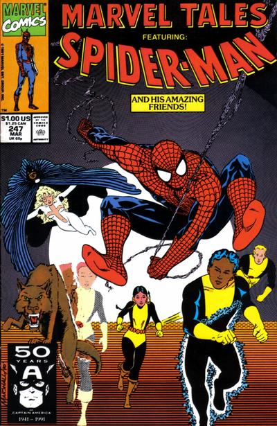 Cover for Marvel Tales (Marvel, 1966 series) #247