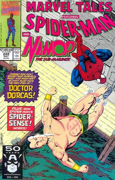 Cover for Marvel Tales (Marvel, 1966 series) #249