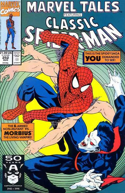 Cover for Marvel Tales (Marvel, 1966 series) #252
