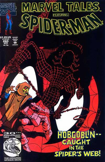 Cover for Marvel Tales (Marvel, 1966 series) #260