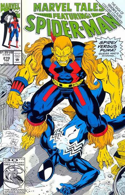 Cover for Marvel Tales (Marvel, 1966 series) #270