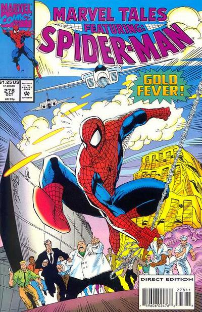 Cover for Marvel Tales (Marvel, 1966 series) #278