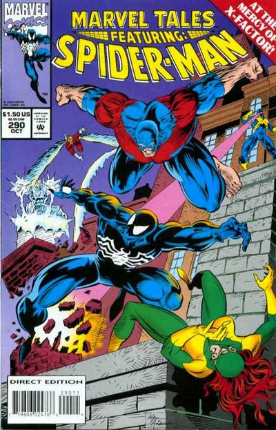 Cover for Marvel Tales (Marvel, 1966 series) #290 [Direct Edition]