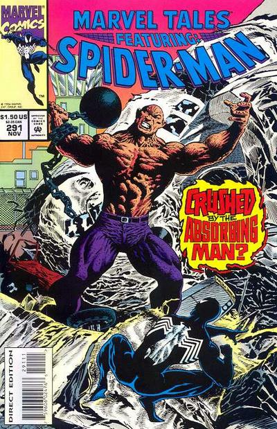 Cover for Marvel Tales (Marvel, 1966 series) #291