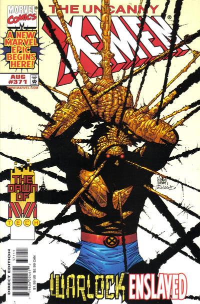 Cover for The Uncanny X-Men (Marvel, 1981 series) #371 [Direct Edition]