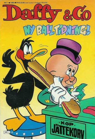 Cover for Daffy & Co (Semic, 1985 series) #1/1985