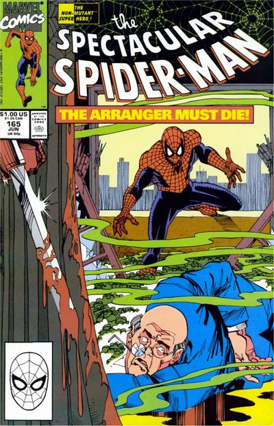 Cover for The Spectacular Spider-Man (Marvel, 1976 series) #165