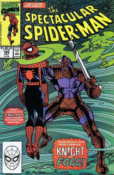 Cover for The Spectacular Spider-Man (Marvel, 1976 series) #166