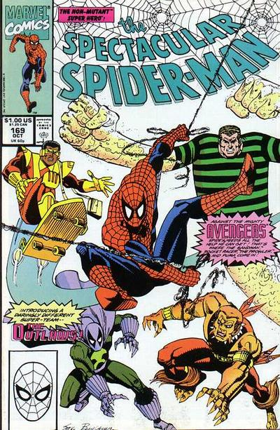 Cover for The Spectacular Spider-Man (Marvel, 1976 series) #169