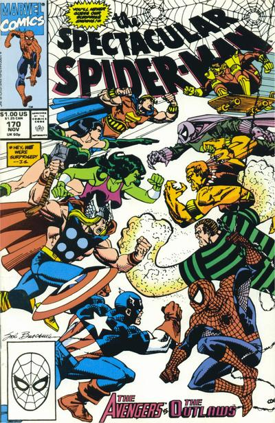 Cover for The Spectacular Spider-Man (Marvel, 1976 series) #170