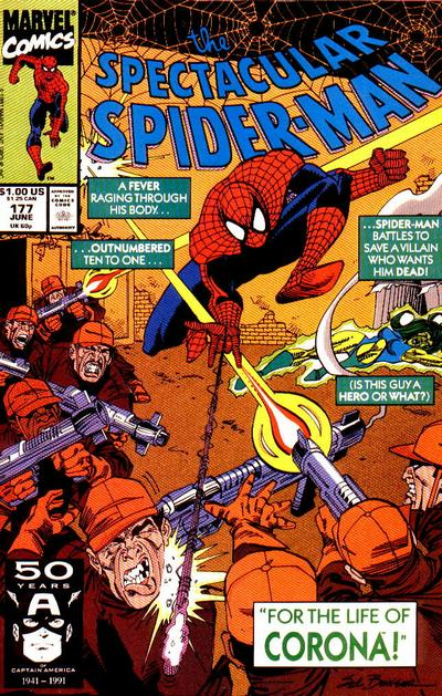 Cover for The Spectacular Spider-Man (Marvel, 1976 series) #177
