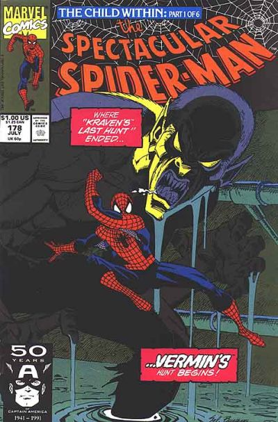 Cover for The Spectacular Spider-Man (Marvel, 1976 series) #178