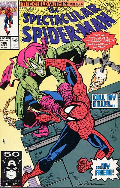 Cover for The Spectacular Spider-Man (Marvel, 1976 series) #180