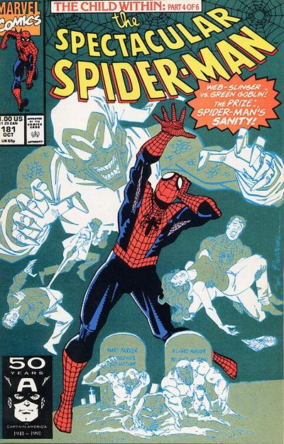 Cover for The Spectacular Spider-Man (Marvel, 1976 series) #181