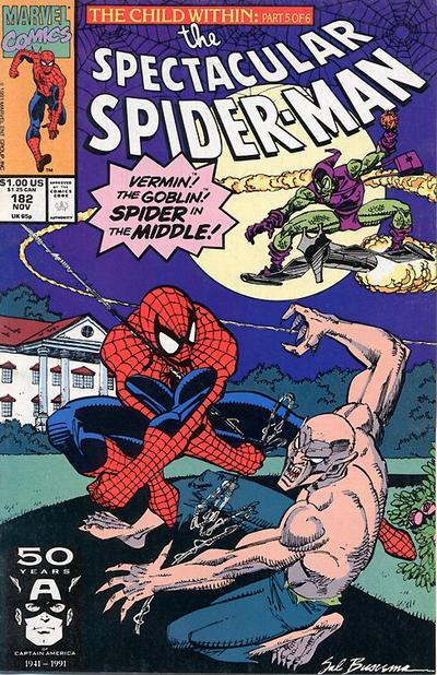 Cover for The Spectacular Spider-Man (Marvel, 1976 series) #182
