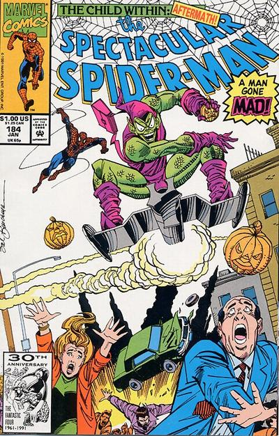 Cover for The Spectacular Spider-Man (Marvel, 1976 series) #184