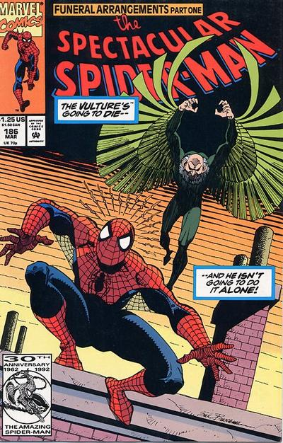 Cover for The Spectacular Spider-Man (Marvel, 1976 series) #186