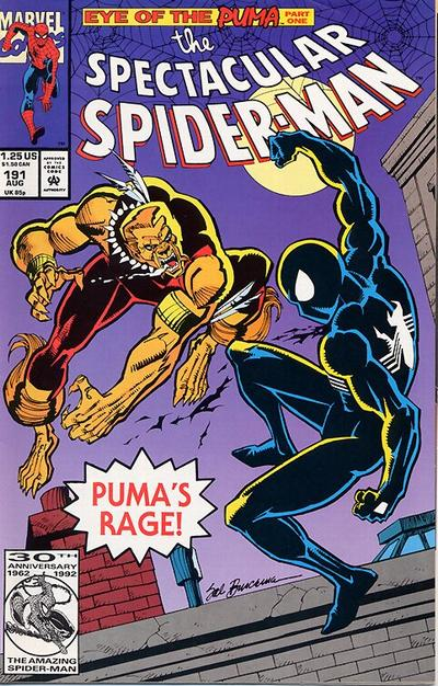 Cover for The Spectacular Spider-Man (Marvel, 1976 series) #191