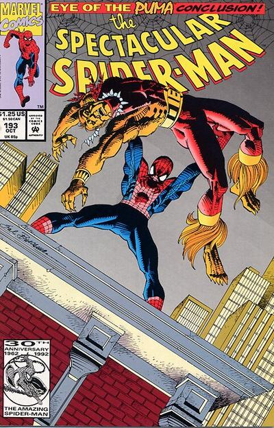 Cover for The Spectacular Spider-Man (Marvel, 1976 series) #193