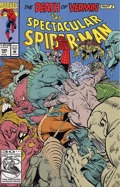 Cover for The Spectacular Spider-Man (Marvel, 1976 series) #195