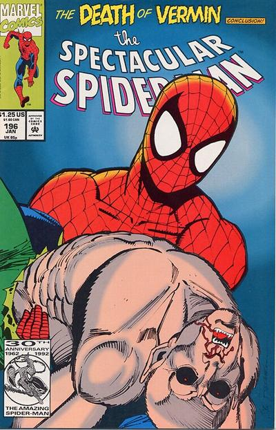Cover for The Spectacular Spider-Man (Marvel, 1976 series) #196 [direct]