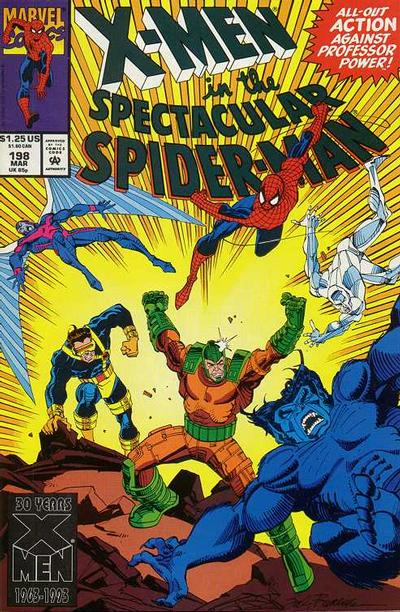 Cover for The Spectacular Spider-Man (Marvel, 1976 series) #198