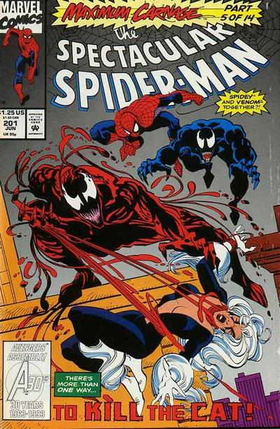 Cover for The Spectacular Spider-Man (Marvel, 1976 series) #201