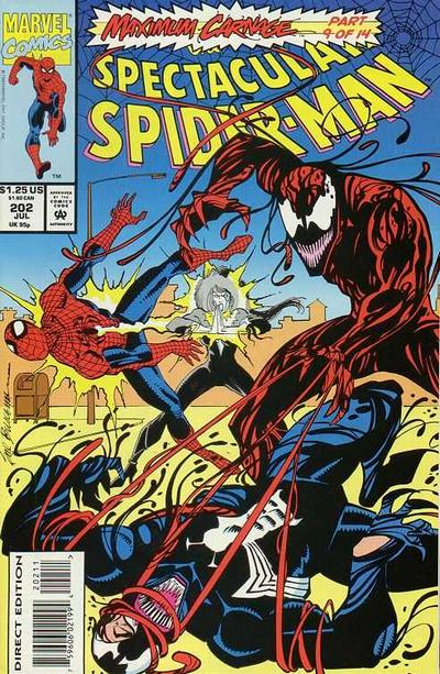 Cover for The Spectacular Spider-Man (Marvel, 1976 series) #202