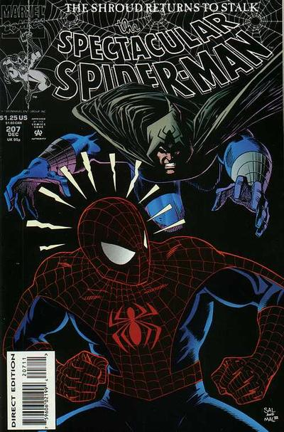 Cover for The Spectacular Spider-Man (Marvel, 1976 series) #207