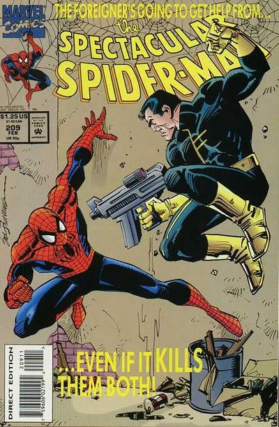 Cover for The Spectacular Spider-Man (Marvel, 1976 series) #209
