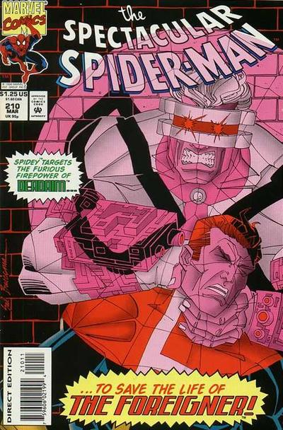 Cover for The Spectacular Spider-Man (Marvel, 1976 series) #210