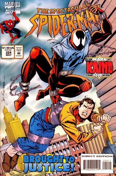 Cover for The Spectacular Spider-Man (Marvel, 1976 series) #224