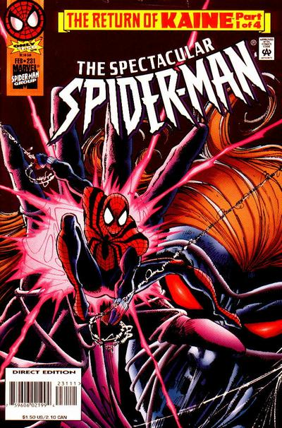 Cover for The Spectacular Spider-Man (Marvel, 1976 series) #231