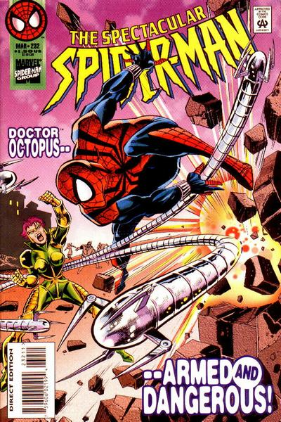 Cover for The Spectacular Spider-Man (Marvel, 1976 series) #232