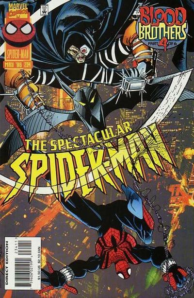 Cover for The Spectacular Spider-Man (Marvel, 1976 series) #234