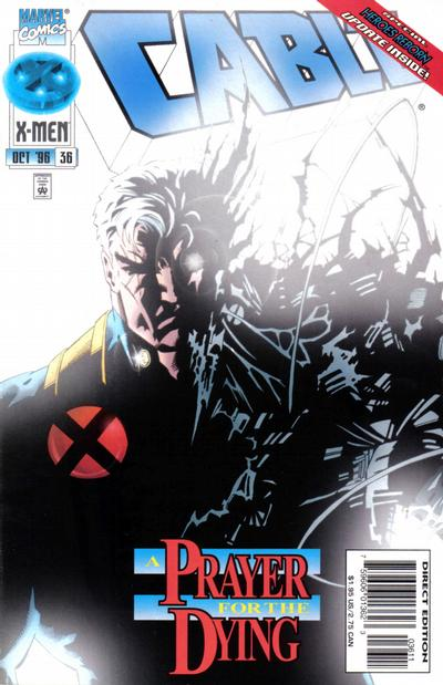 Cover for Cable (Marvel, 1993 series) #36 [Direct Edition]