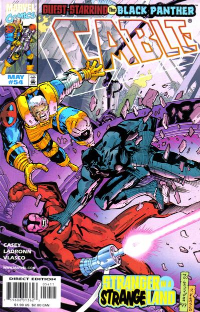 Cover for Cable (Marvel, 1993 series) #54 [Direct Edition]