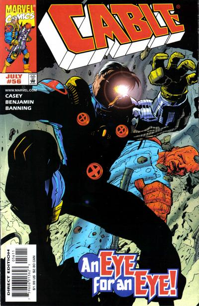 Cover for Cable (Marvel, 1993 series) #56 [Direct Edition]