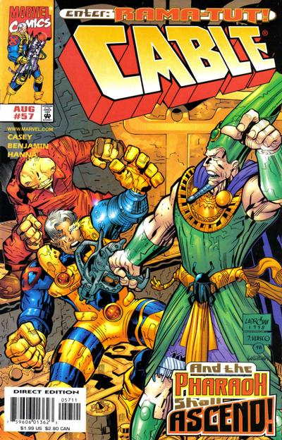 Cover for Cable (Marvel, 1993 series) #57 [Direct Edition]