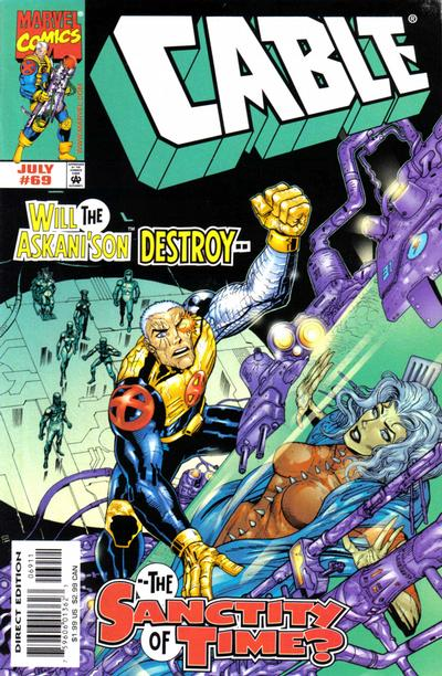 Cover for Cable (Marvel, 1993 series) #69 [Direct Edition]