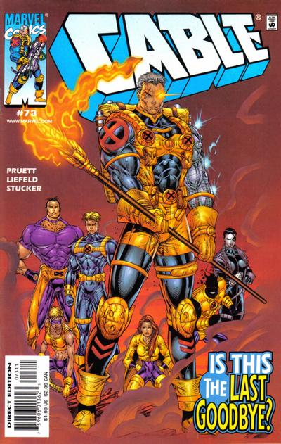 Cover for Cable (Marvel, 1993 series) #73 [Direct Edition]