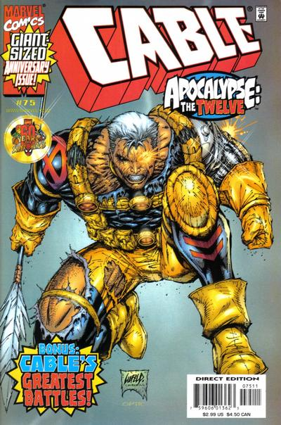Cover for Cable (Marvel, 1993 series) #75 [Direct Edition]