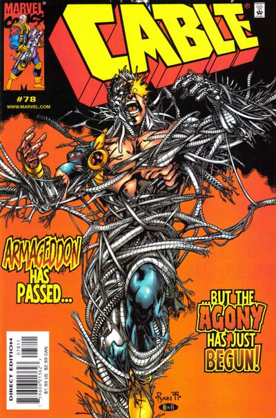 Cover for Cable (Marvel, 1993 series) #78 [Direct Edition]