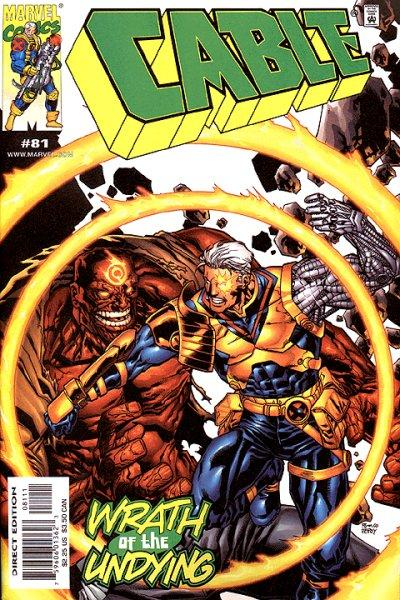 Cover for Cable (Marvel, 1993 series) #81 [Direct Edition]