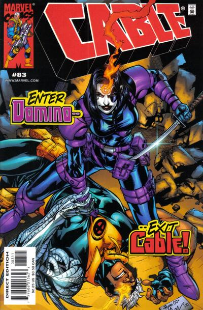 Cover for Cable (Marvel, 1993 series) #83 [Direct Edition]